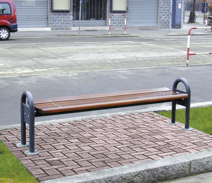 Classic style Modular wooden Bench MIRATA 1850 - SMEC