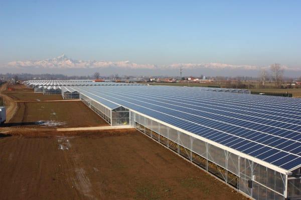 Serra fotovoltaica da 5,6 MW