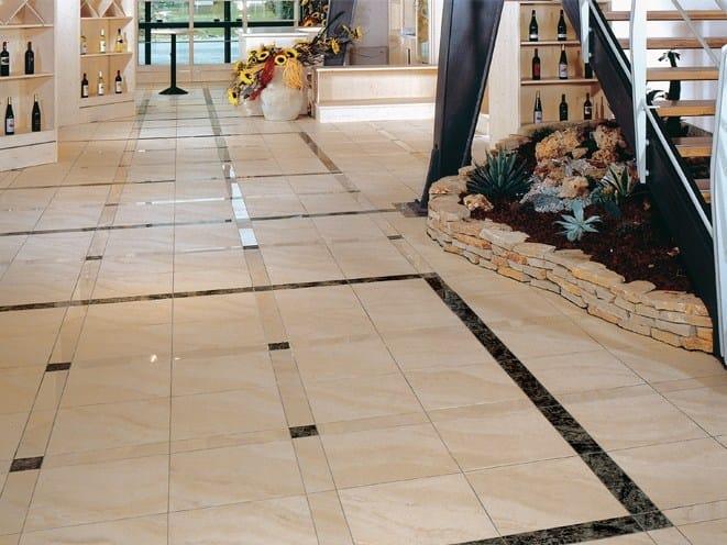 Pavimento/rivestimento in gres porcellanato effetto marmo MARMI ...
