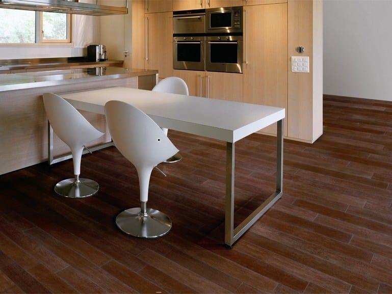 Pavimento rivestimento in gres porcellanato effetto legno for Gres effetto teak
