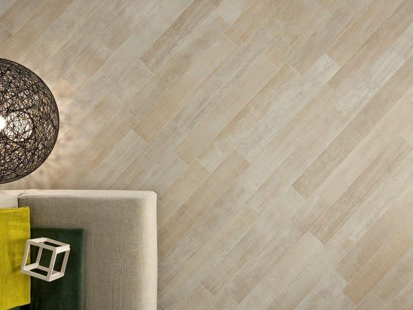 Pavimento/rivestimento in gres porcellanato effetto legno LEGNI HIGH-TECH Ro...