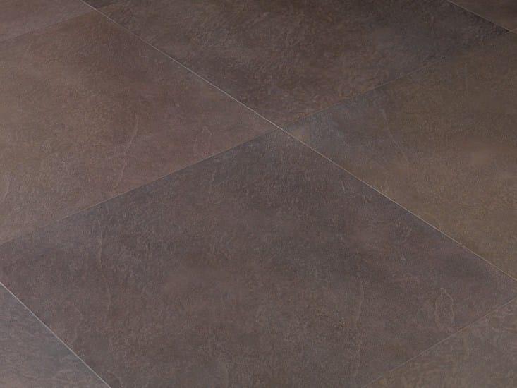 Pavimento rivestimento in gres porcellanato a tutta massa for Pavimento effetto pietra