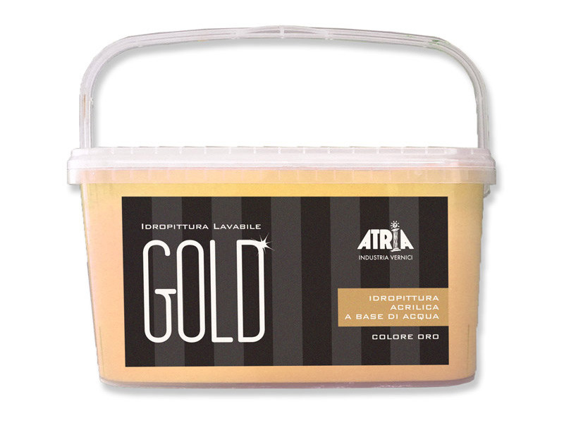 Washable water-based paint TINTE FORTI GOLD by COLORIFICIO ATRIA