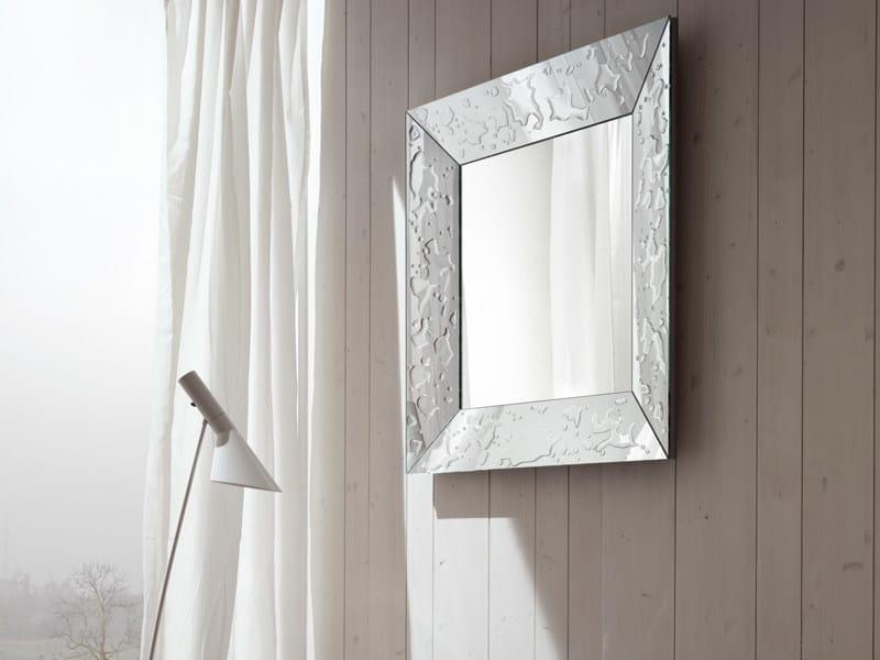Framed mirror GOCCE - RIFLESSI
