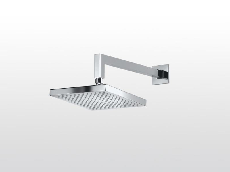 Wall-mounted overhead shower with arm Wall-mounted overhead shower by RUBINETTERIE STELLA