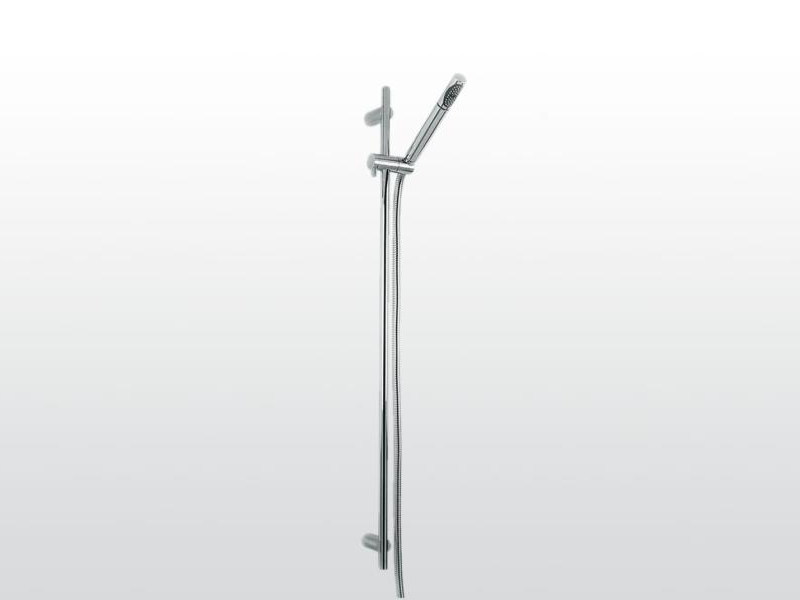 Wall-mounted handshower with shower wallbar BAMBOO | 302-302A - RUBINETTERIE STELLA