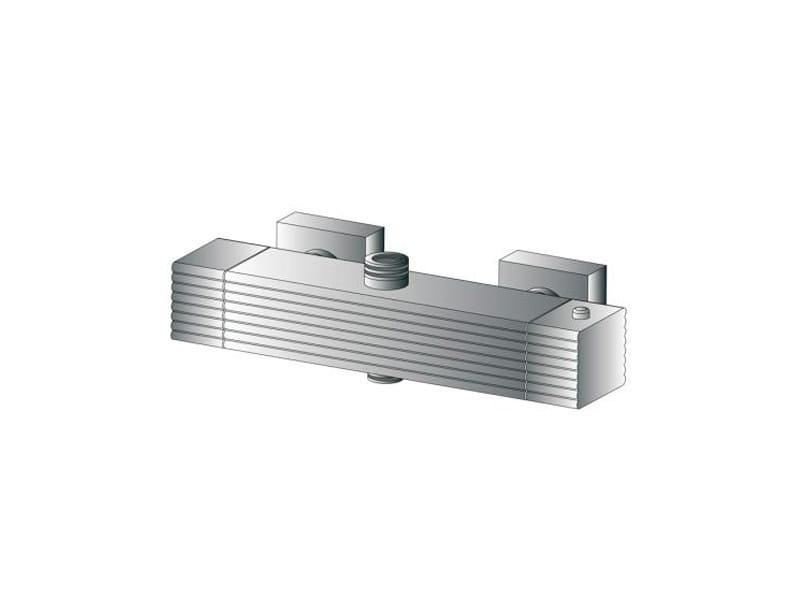 2 hole thermostatic shower tap CASANOVA 3287TM by RUBINETTERIE STELLA
