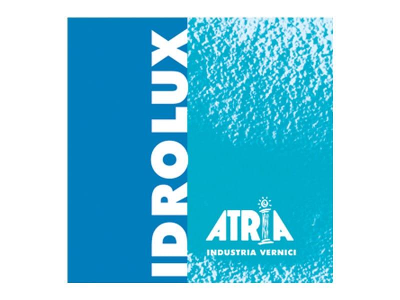 Enamel IDROLUX SEMILUCIDO - COLORIFICIO ATRIA