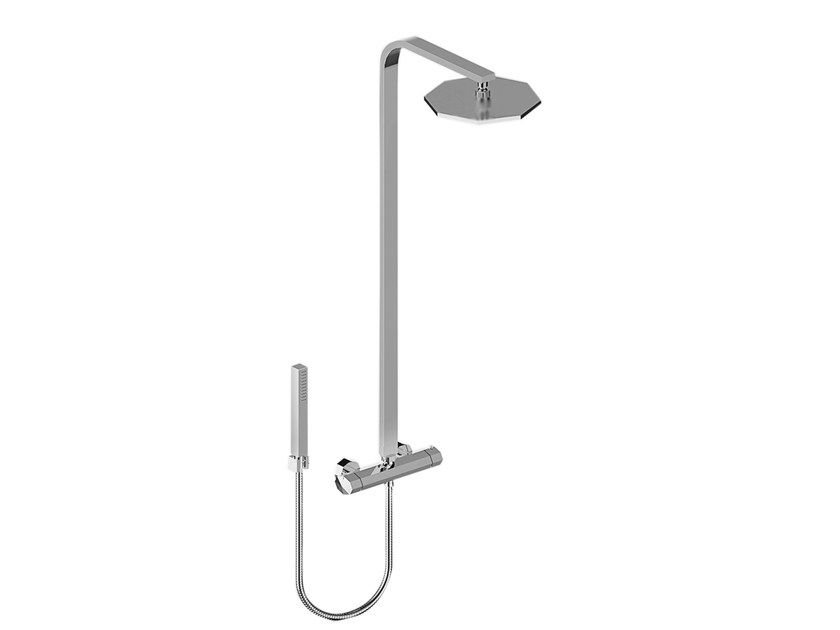 Shower panel with hand shower FIRENZE 3287TM3 - RUBINETTERIE STELLA