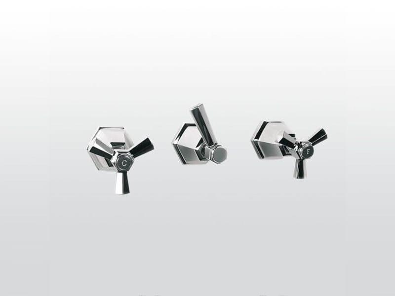 3 hole wall-mounted bathtub tap ECCELSA 3254 - RUBINETTERIE STELLA