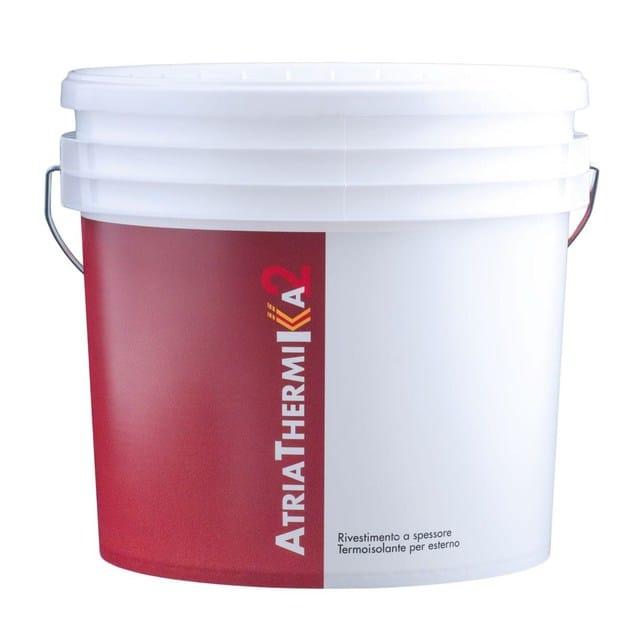Water repellent water-based paint ATRIATHERMIKA 2 Rivestimento per esterni by COLORIFICIO ATRIA