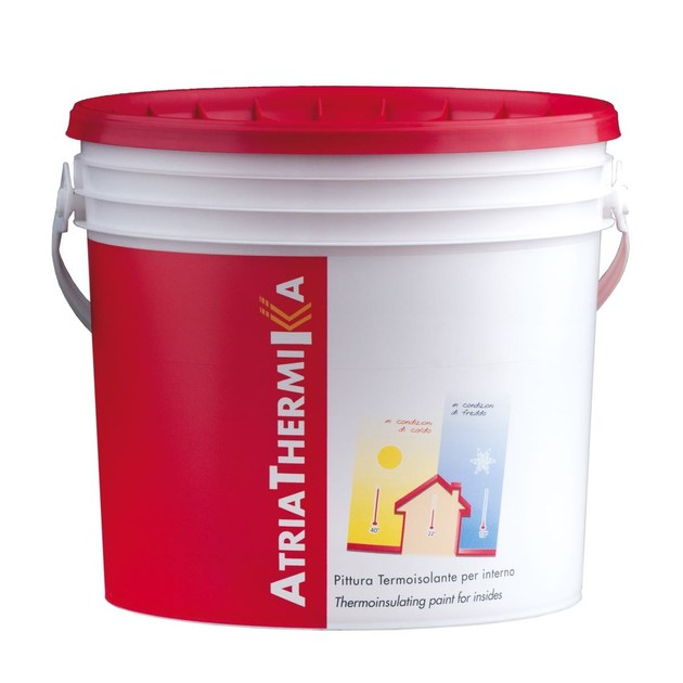 Water repellent water-based paint ATRIATHERMIKA Pittura per interni - COLORIFICIO ATRIA
