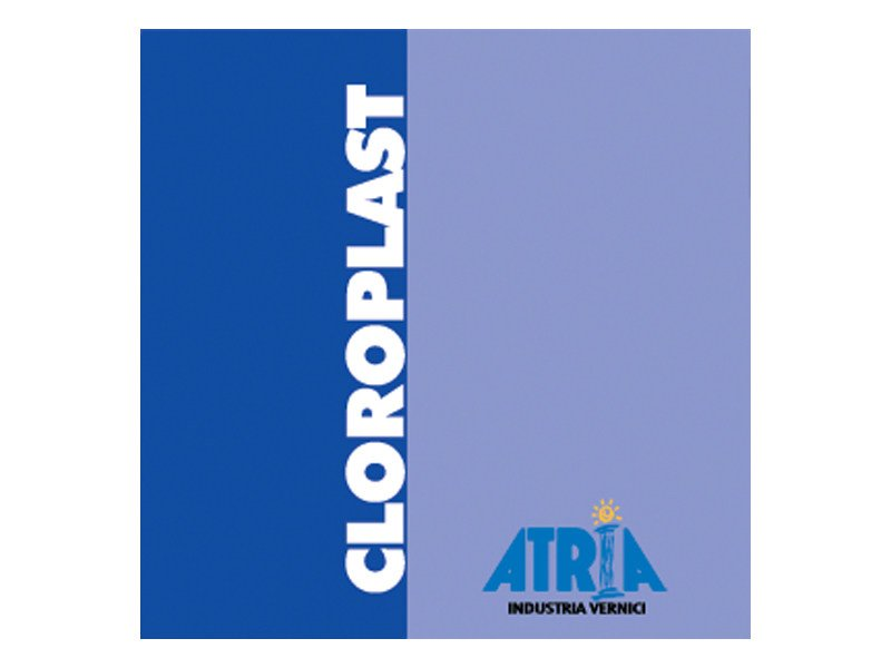 Protective varnish CLOROPLAST - COLORIFICIO ATRIA