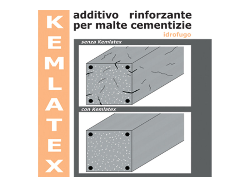 Additive for cement and concrete KEMLATEX - COLORIFICIO ATRIA