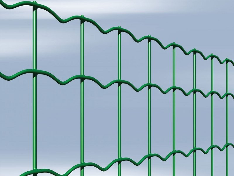Plasticized electrically welded mesh Fence NOVAPLAX by Gruppo CAVATORTA
