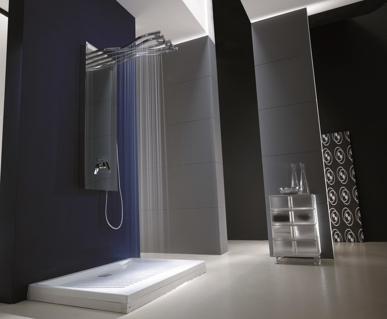 Colonna doccia con soffione rami colonna doccia - Rubinetteria bagno gattoni ...