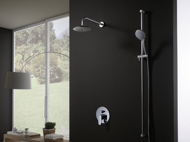 1 hole shower mixer H2OMIX1000 | Shower mixer - Gattoni Rubinetteria