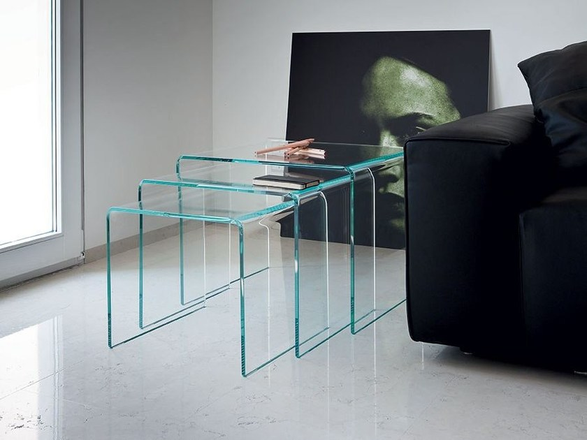 Stackable coffee table TRIX by Sovet italia