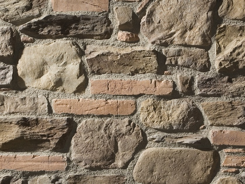 Rivestimento in pietra ricostruita lisboa linea ecopiedra - Pietra a vista per esterni ...