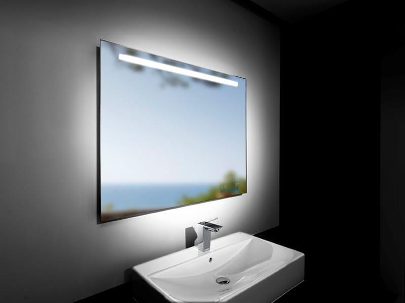 specchio bagno touch luci bagno ambazac for
