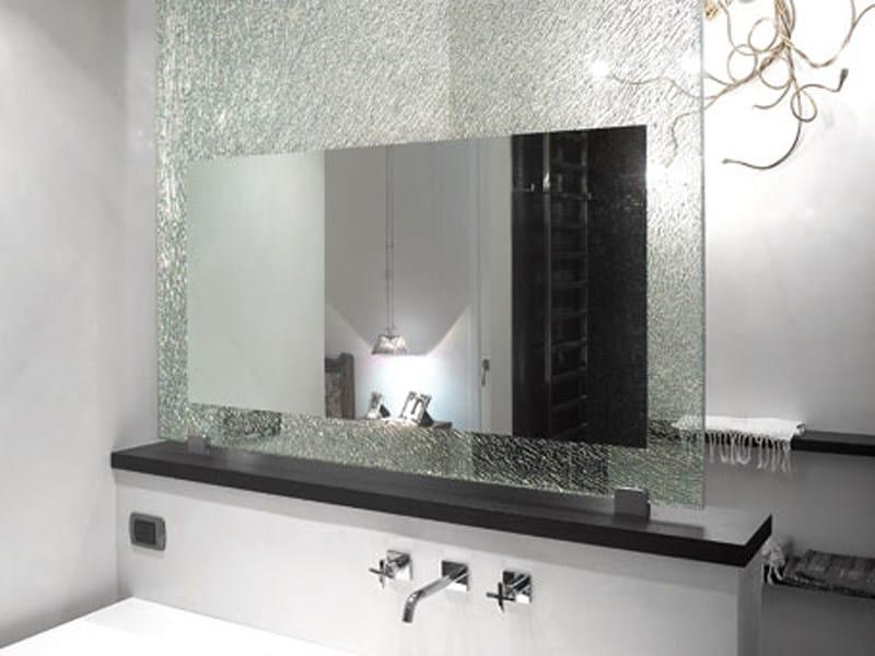 Bathroom mirror GLASS PROJECT   Bathroom mirror - Vetraria Pescini