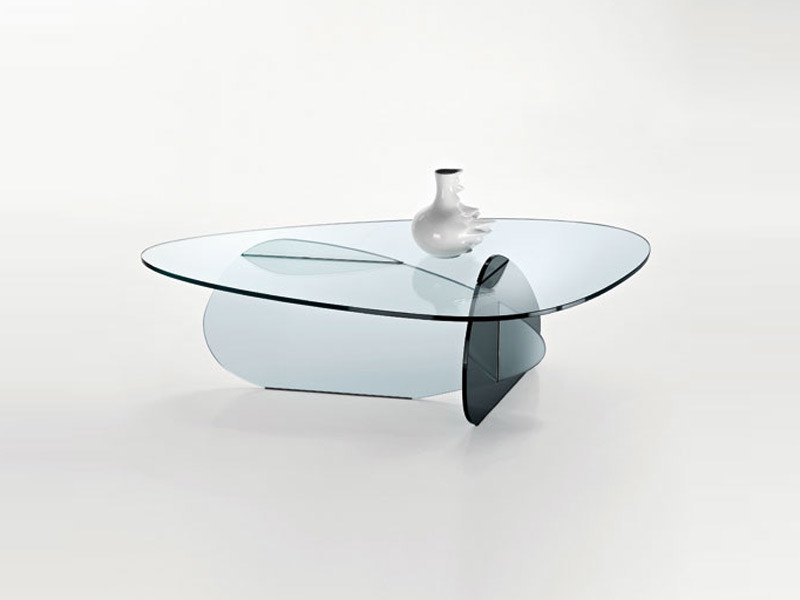 Glass coffee table for living room GLASS PROJECT | Coffee table - Vetraria Pescini