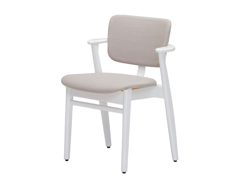 Wooden chair with armrests DOMUS | Chair with armrests - Artek