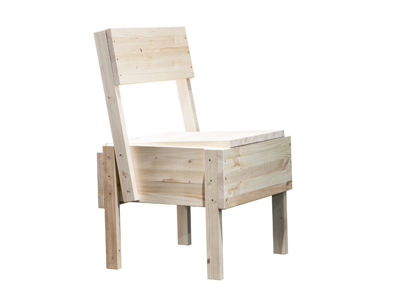 Pine chair SEDIA | Wooden chair - Artek