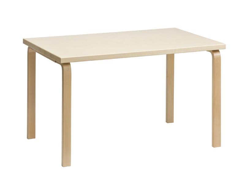 Rectangular wooden table 81B | Rectangular table - Artek