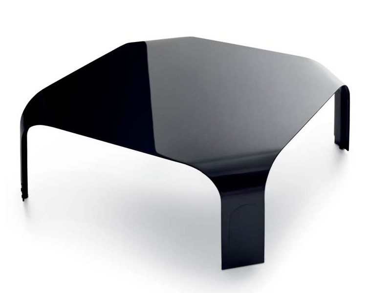 Aluminium coffee table MiniBRIDGE - Borella Design