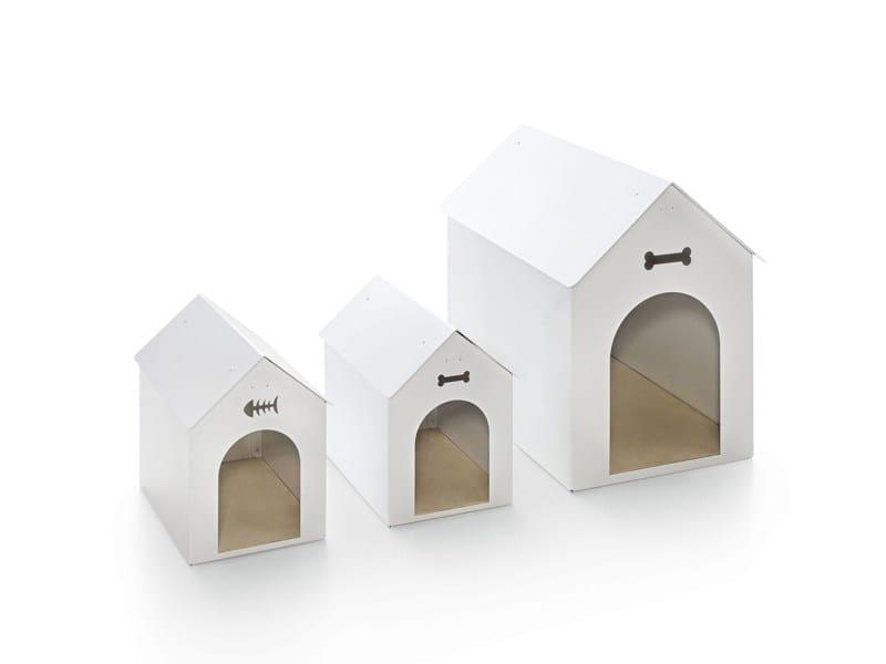 Aluminium dogbasket CRAZY DOG - CRAZY CAT - Borella Design
