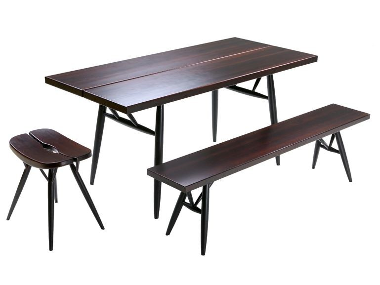 Rectangular wooden table PIRKKA | Rectangular table - Artek