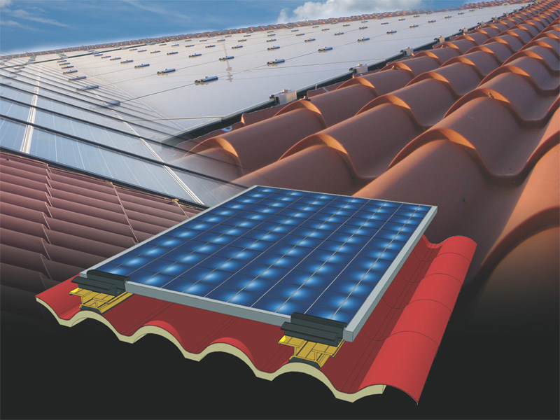 Support for photovoltaic system ISOCOPPO FV - Alubel