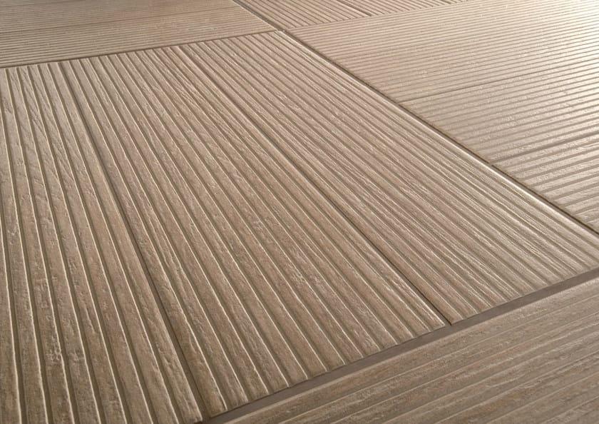 Pavimento in gres porcellanato effetto legno habitat marazzi for Ceramiche marazzi prezzi