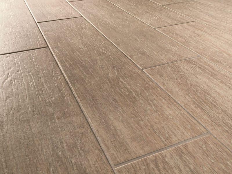 Pavimento in gres porcellanato effetto legno HABITAT by MARAZZI
