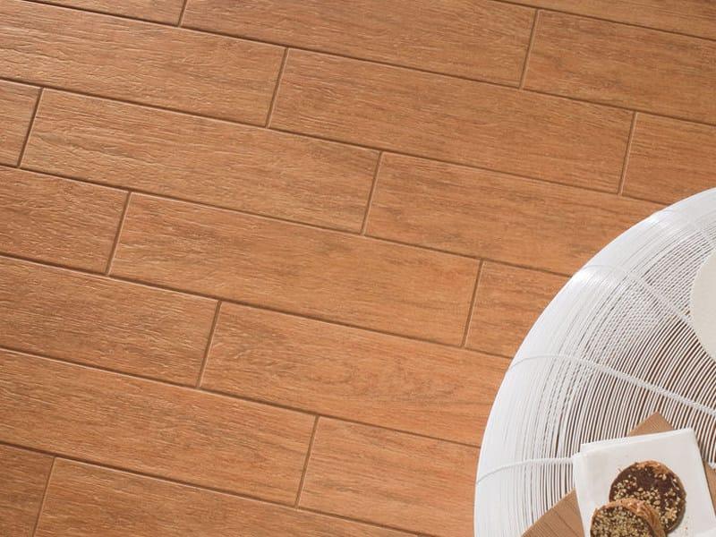 Pavimento in gres porcellanato effetto legno habitat marazzi - Gres imitacion parquet ...