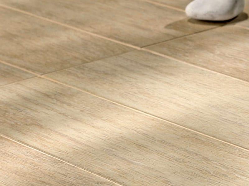 Pavimento de gres porcel nico imitaci n madera habitat by - Gres imitacion madera ...