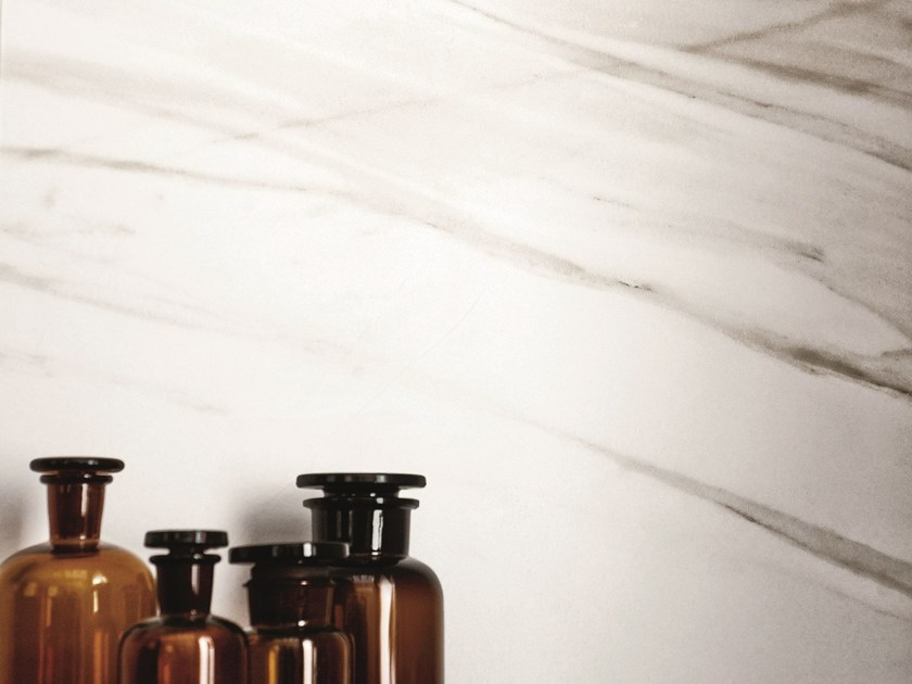 Porcelain stoneware flooring with marble effect EVOLUTIONMARBLE - MARAZZI