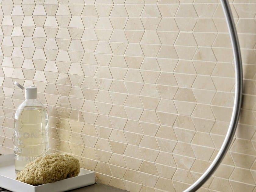 Porcelain stoneware mosaic EVOLUTIONMARBLE | Mosaic by MARAZZI