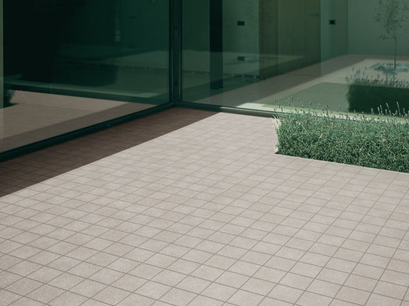 Porcelain stoneware outdoor floor tiles SPACE - MARAZZI