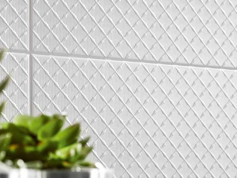 White-paste wall tiles BLACK&WHITE - MARAZZI