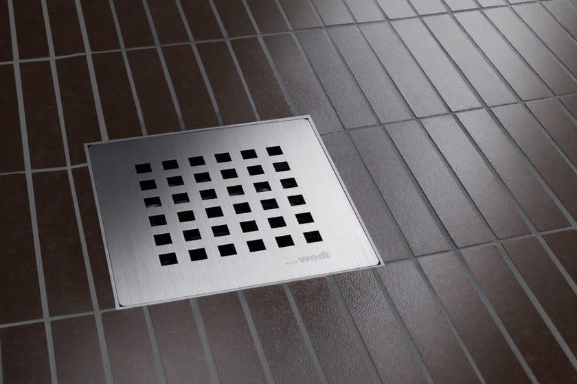Flush fitting tiled shower tray FUNDO PRIMO - Wedi Italia