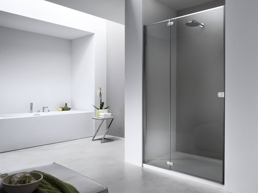 Glass shower cabin FLAT FN - Provex Industrie
