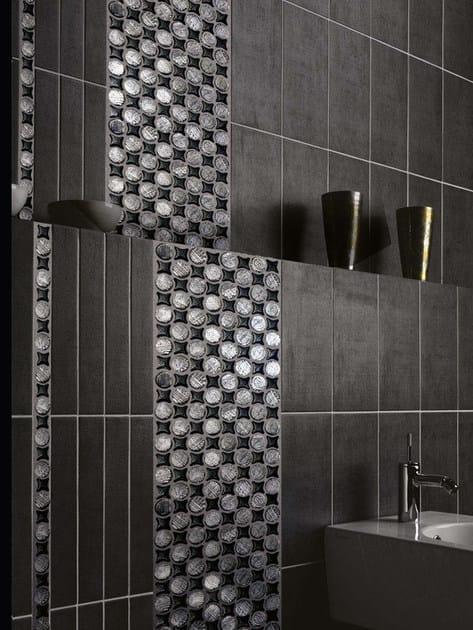 Mosaico in vetro geometrie vetrovivo for Rivestimenti metallici orizzontali
