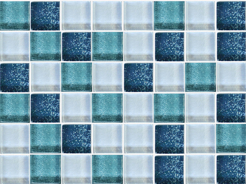 Glass mosaic CUBIQUE by VETROVIVO