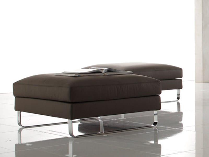 Upholstered Dacron® pouf DOVER | Pouf - ALIVAR