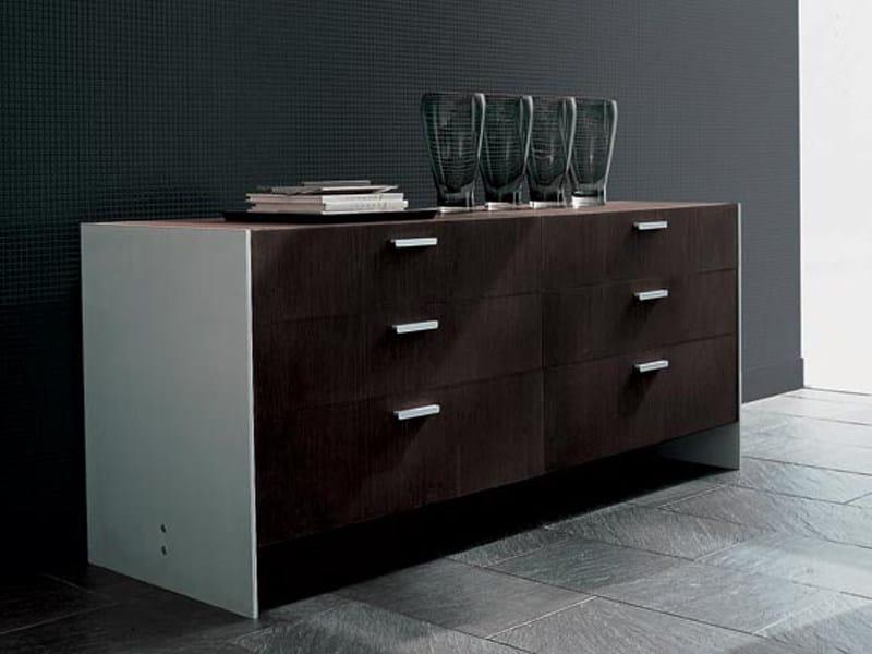 Lacquered wooden dresser FRAME | Dresser - ALIVAR