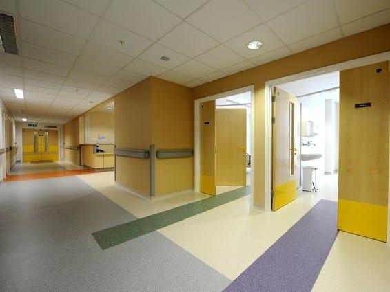 Acoustic rock wool ceiling tiles ROCKFON® MediCare® Plus - ROCKFON - ROCKWOOL ITALIA