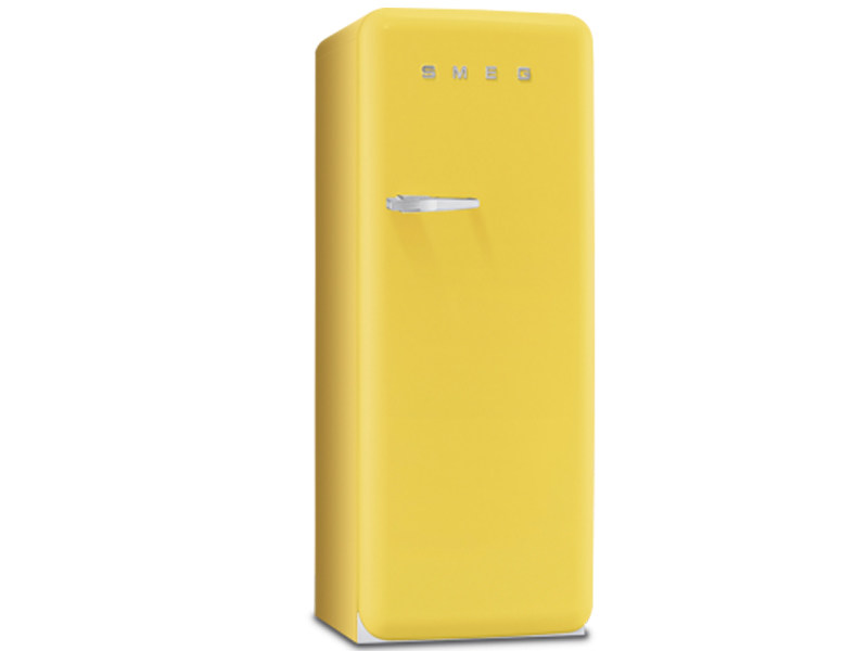 Single door refrigerator Class A + + FAB28RG1 | Refrigerator by Smeg