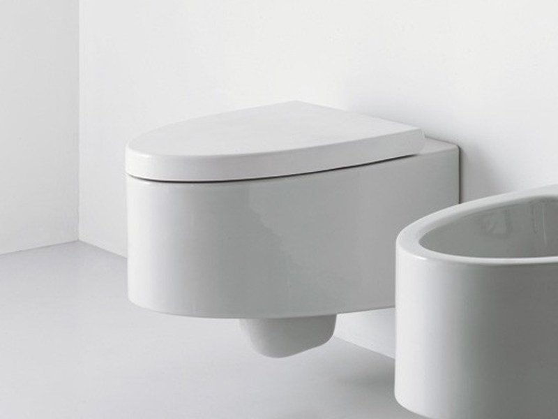 Wall-hung ceramic toilet BOING | Wall-hung toilet by GSG Ceramic Design